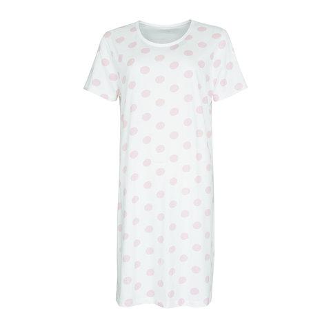 Temptation  Dames Bigshirt nachthemd Wit TPNGD1011C