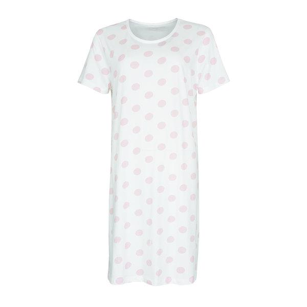 Temptation Temptation  Dames Bigshirt nachthemd Wit TPNGD1011C