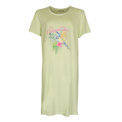Temptation  Dames Bigshirt nachthemd Groen TPNGD1016A