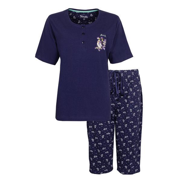 Medaillon Medaillon Dames Pyjama Blauw MEPYD1006A
