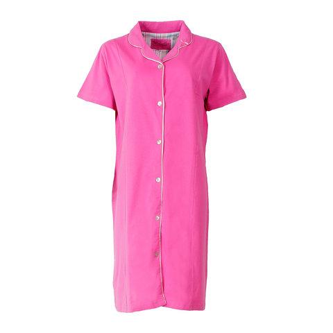 Medaillon Dames ziekenhuis doorknoop Nachthemd Roze MENGD1404A