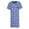 Medaillon Dames Nachthemd Blauw MENGD1003A