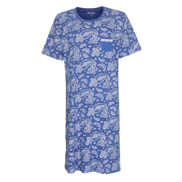 Medaillon Medaillon Dames Nachthemd Blauw MENGD1003A