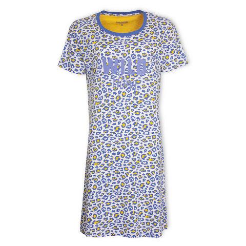 Irresistible  Dames  nachthemd Blauw IRNGD1001A