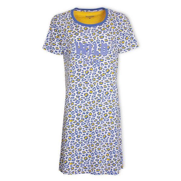 Irresistible Irresistible  Dames  nachthemd Blauw IRNGD1001A
