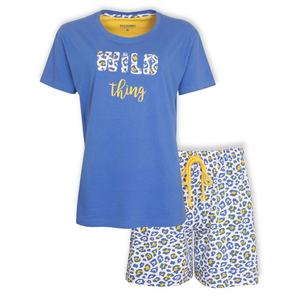 Irresistible Irresistible Dames Shortama Blauw IRSAD1001A