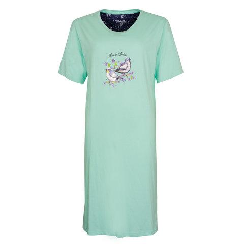 Medaillon Dames Nachthemd Groen MENGD1005A