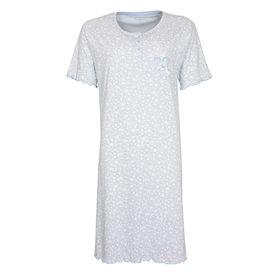Tenderness Tenderness  Dames  nachthemd Lichtblauw TENGD1003A