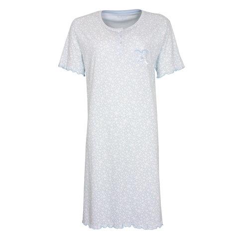 Tenderness  Dames  nachthemd Lichtblauw TENGD1003A