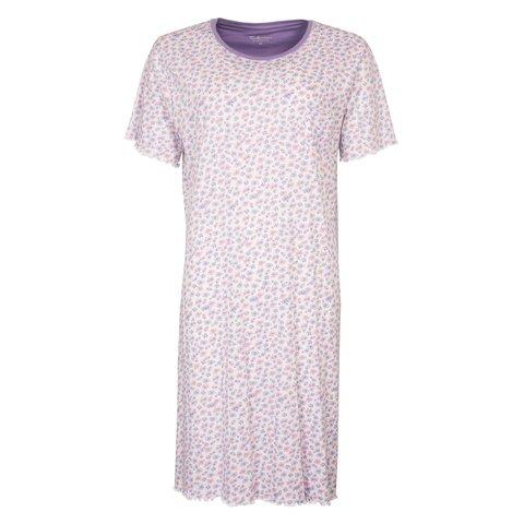 Tenderness  Dames  nachthemd Paars TENGD1005A