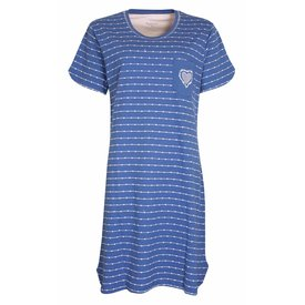 Tenderness Tenderness  Dames  nachthemd Blauw TENGD1007A