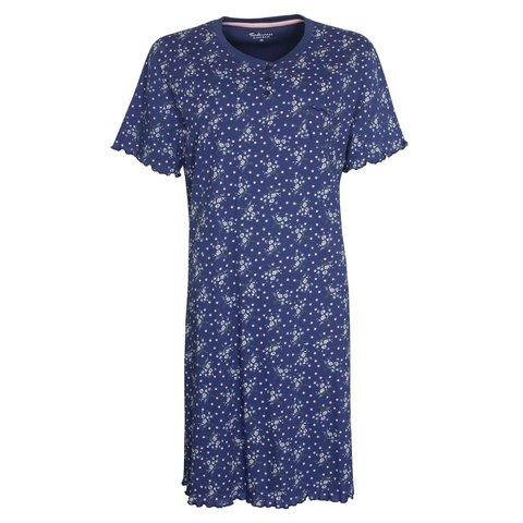 Tenderness  Dames  nachthemd Blauw TENGD1009A