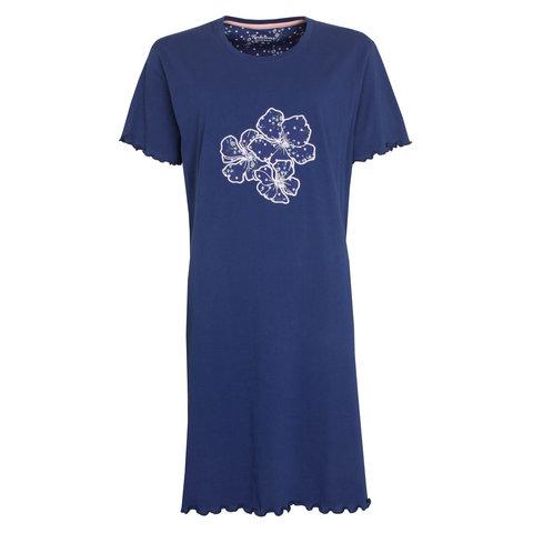 Tenderness  Dames  nachthemd Blauw TENGD1010A
