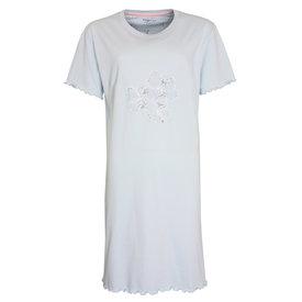 Tenderness Tenderness  Dames  nachthemd Licht Blauw TENGD1010B