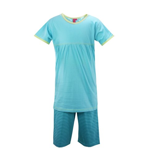 AnnaRebella Meisjes Pyjama Blauw PYM24023B