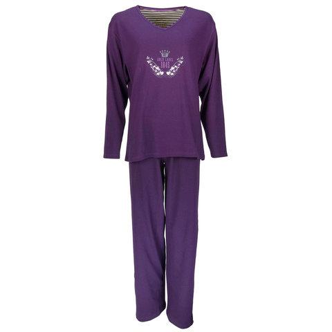 Tenderness Dames Pyjama Streep Paars