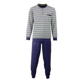 Paul Hopkins Paul Hopkins Heren Pyjama Crown Blauw PHPYH1702A