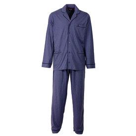 Paul Hopkins Paul Hopkins Heren Pyjama Indigo Blauw PHPYH2508B