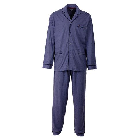 Paul Hopkins Heren Pyjama Indigo Blauw PHPYH2508B