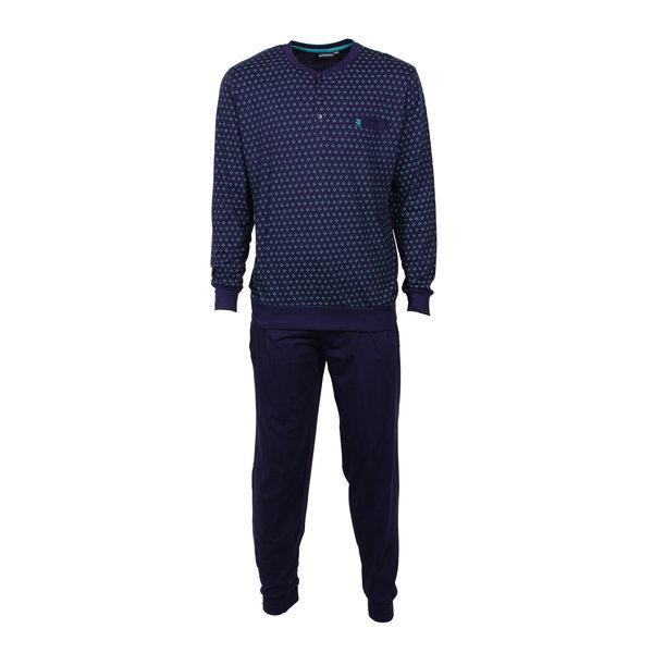 Paul Hopkins Paul Hopkins Heren Pyjama Peacoat Blauw PHPYH1704A