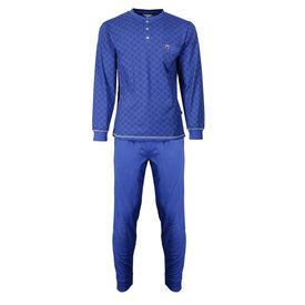 M.E.Q M.E.Q. Heren pyjama Navy Blauw MEPYH2703A