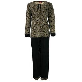 Medaillon Medaillon Dames Pyjama Allover Gold MEPYD2305B