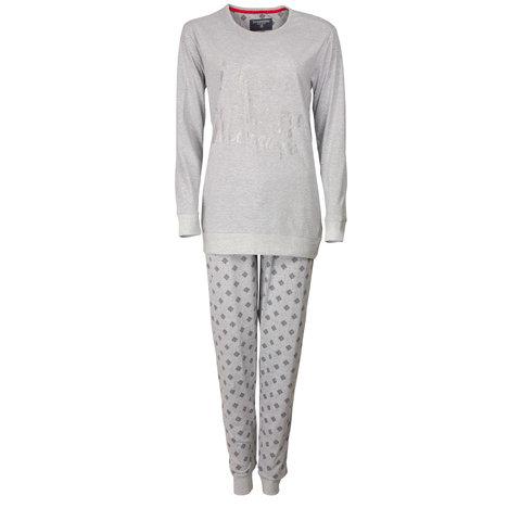 Irresistible Dames Pyjama Grijs Melange IRPYD2601B