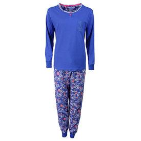 Tenderness Tenderness Dames Pyjama Strong Blue TEPYD1606B