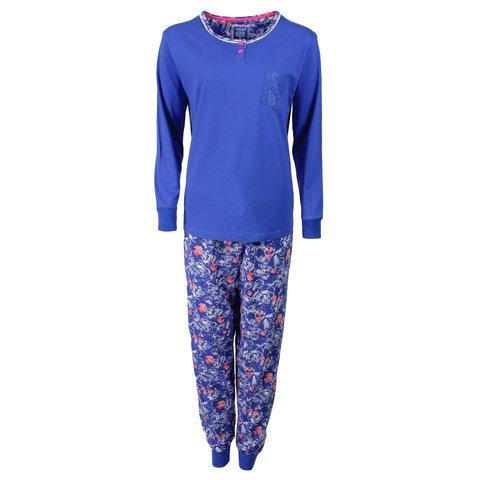 Tenderness Dames Pyjama Strong Blue TEPYD1606B
