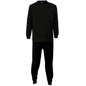 Paul Hopkins Paul Hopkins Heren Pyjama Zwart PHPYH1514B