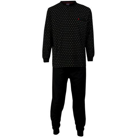 Paul Hopkins Heren Pyjama Zwart PHPYH1514B