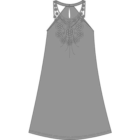 Irresistible Dames nachthemd  Bruin IRNGD1116B