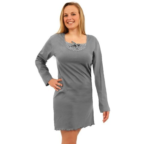 Irresistible dames nachthemd Grijs IRNGD2910B