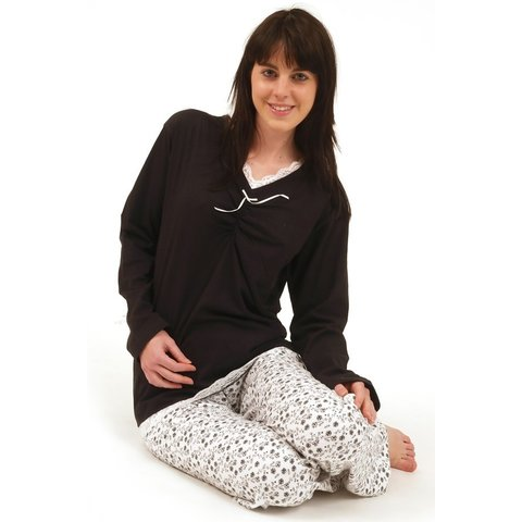 Irresistible Dames Pyjama Zwart IRPYD2004B