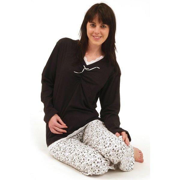 Irresistible Irresistible Dames Pyjama Zwart IRPYD2004B