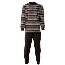 Paul Hopkins Paul Hopkins Heren Pyjama Bruin PHPYH2506A
