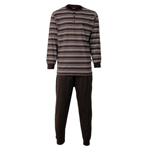 Paul Hopkins Heren Pyjama Bruin PHPYH2506A