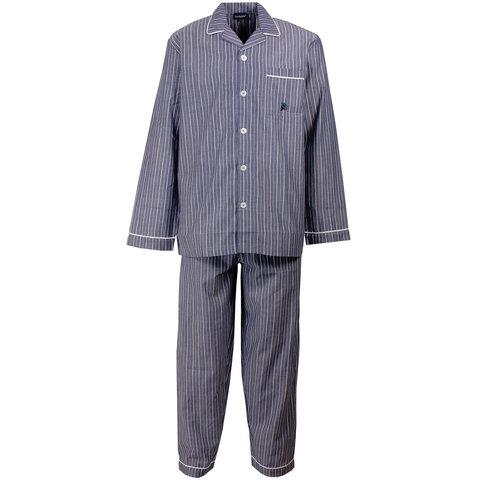 Paul Hopkins Heren pyjama Navy Blauw PHPYH1501A