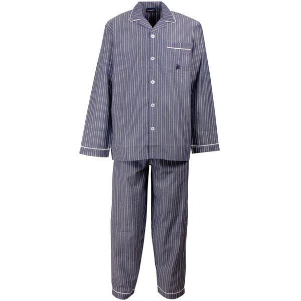 Paul Hopkins Paul Hopkins Heren pyjama Navy Blauw PHPYH1501A
