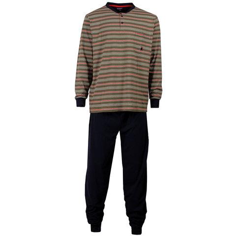 Paul Hopkins Heren pyjama Donker Blauw PHPYH1503B