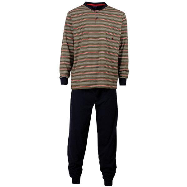 Paul Hopkins Paul Hopkins Heren pyjama Donker Blauw PHPYH1503B