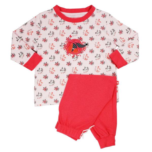 Merkloos AngelFish Beige-Rode Meisjes Pyjama AFPYY1304A