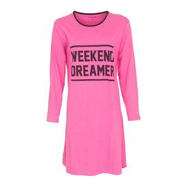Temptation Tempation Dames Nachthemd/Bigshirt Roze TPNGD2007A