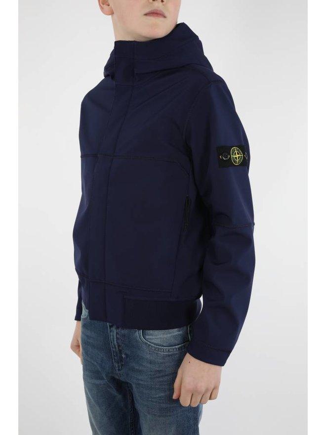 Stone Island Boys Navy Soft Shell Jacket