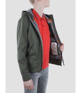Yakumo Boy Jacket Military