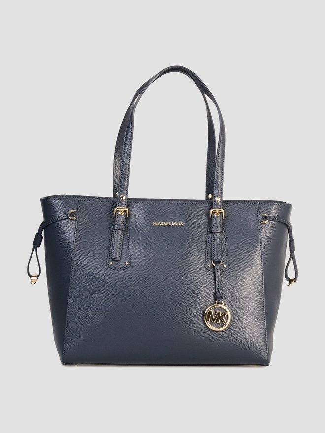 Michael Kors Voyager MD MF TZ Tote Admiral Blue