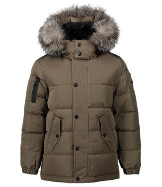 Moose Knuckles 7161 Unisex Kids Mid Jacket Rope W/ Fros