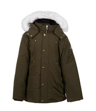 Moose Knuckles 7159 Unisex Parka Army W/ Natural