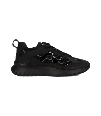 Sneaker  Jupiter Leather Nylon Black