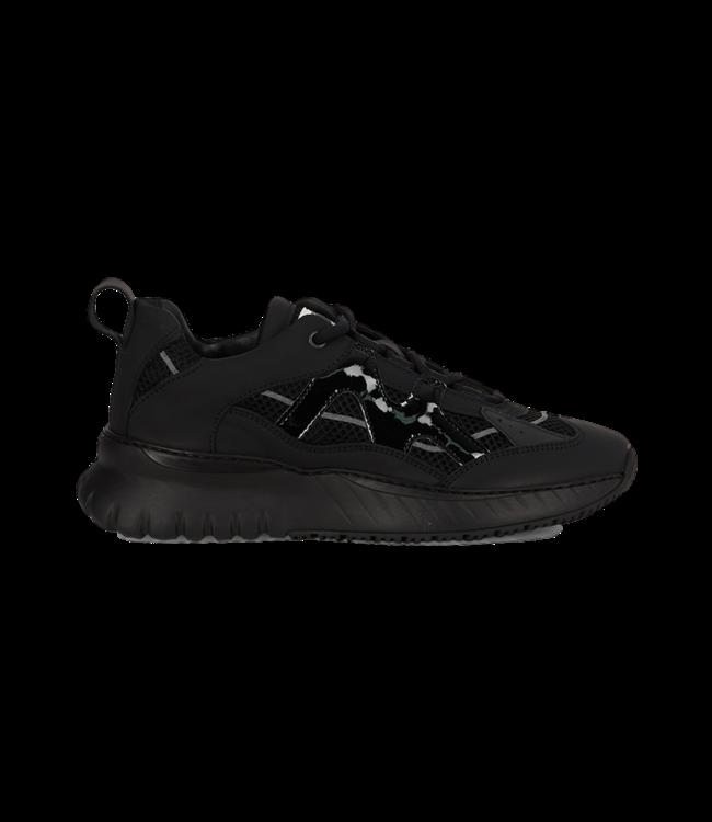 Mercer Sneaker Jupiter Leather Nylon Black